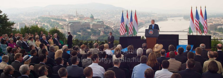 George W. Bush speech in Budapest