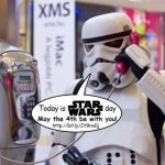 Today is Star Wars day!