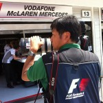 Instapic: F1 – work in the pit lane