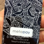 I found last year's Metapay card