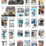 Front pages from 2001. september 11.