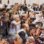 Where there are dog shows there are photographers!