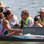 Photographing kayak and canoe races