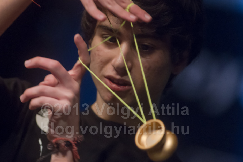 Here's to Yoyo, a good game and interesting photo subject