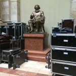 Instapic: Marx statue started packing