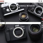 Canon opened a virtual camera museum