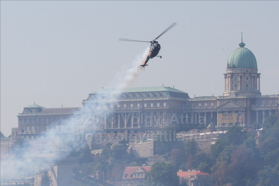 20th August air show in Budapest 2018