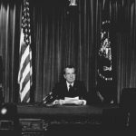 Photographing Nixon's resignation 45 years ago