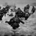 Normandy landing in Robert Capa's perspective