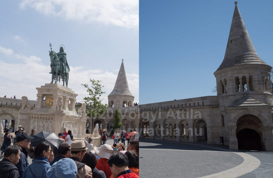 Budapest's landmarks before and now